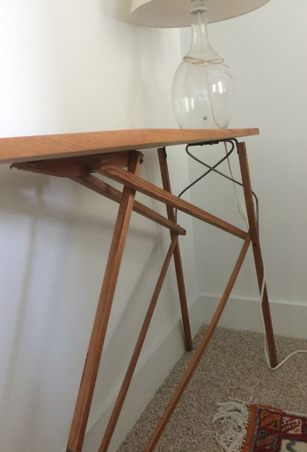 Vintage Ironing Table Accent Table