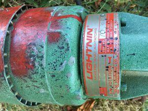 Lightnin mixer motor. for Sale in Des Moines, WA