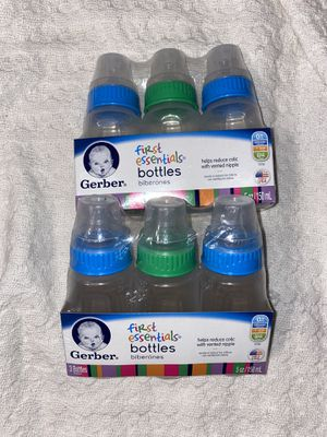 Gerber first Essentials bottles for Sale in San Angelo, TX
