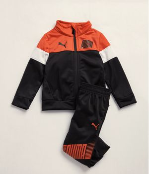Excited to share the latest addition to my #etsy shop: Newborn/Infant Boys / Two-Piece Color Block Tricot Track Jacket & Joggers Set #clothing #child for Sale in Queens, NY