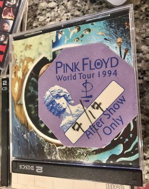 Pink Floyd 15 great condition CDs, a backstage pass, and rare CG the final cut a two disc set for Sale in Raleigh, NC