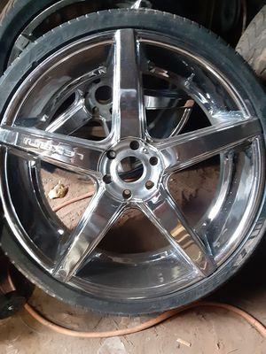 26in rims for Sale in Conroe, TX