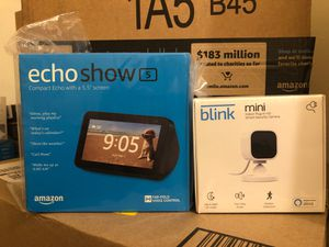 Echo Show 5 and Blink Mini Security Camera for Sale in The Bronx, NY
