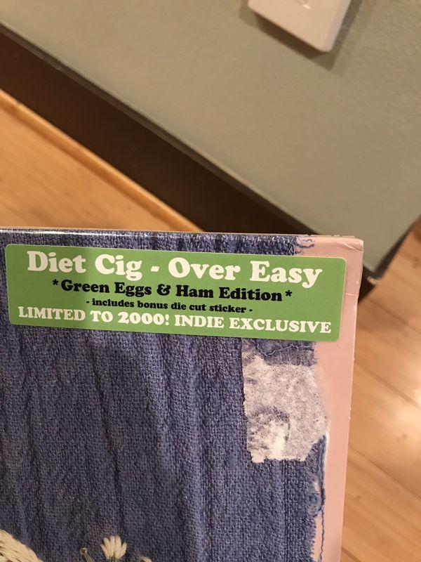 New sealed Diet Cig Over Easy Colored Vinyl