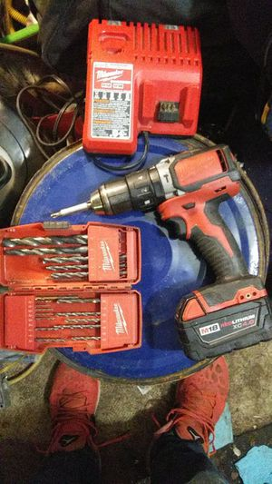 Milwaukee 18v Red lithium hammer drill for Sale in Nitro, WV