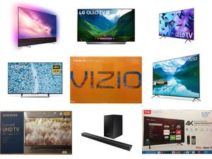 4K-UHD TVs and Sound Bars !!((HUGE SAVINGS))!! Starting from $100! for Sale in Gastonia, NC