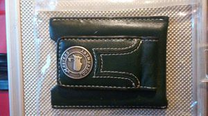 Masters Golf Tournament collectable green leather magnetic money clip wallet for Sale in Boston, MA