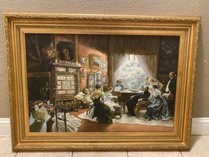 Large painting with frame for Sale in Pittsburg, CA