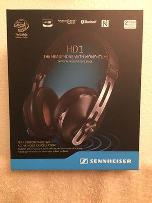 Sennheiser leather headphones for Sale in San Antonio, TX