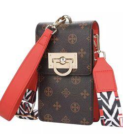 Fashion Purses and Handbags Luxury DesignerNew Large-capacity Lock Diagonal Bag Vertical Print for Sale in Austell,  GA