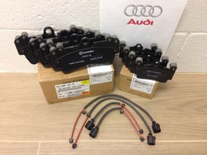 AUDI Q7 FRONT & REAR BRAKE PADS AND WEAR SENSORS - OEM Brand New for Sale in Renton, WA