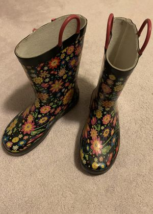 GIRLS rain boots, size 13 for Sale in Lake Oswego, OR