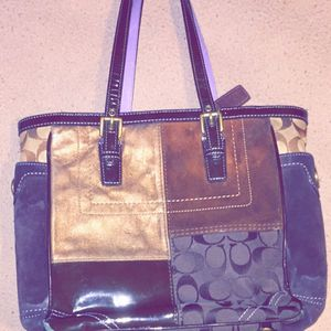 Purple Strap Coach Purse for Sale in Pittsburgh, PA