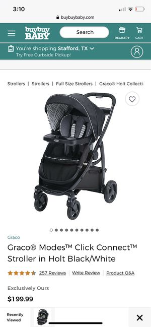 Stroller, connecting Car seat and base for Sale in Houston, TX