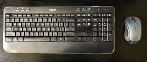 Logitech Wireless Keyboard & Mouse for Sale in Silver Spring, MD