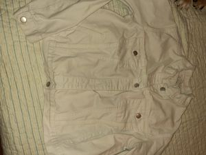 And Ea Wy White Washed Jean Jacket for Sale in Columbia, MO