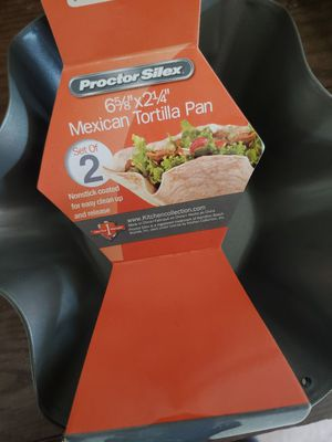 TORTILLA PAN NEW SET OF 2 for Sale in Hillsboro, OR