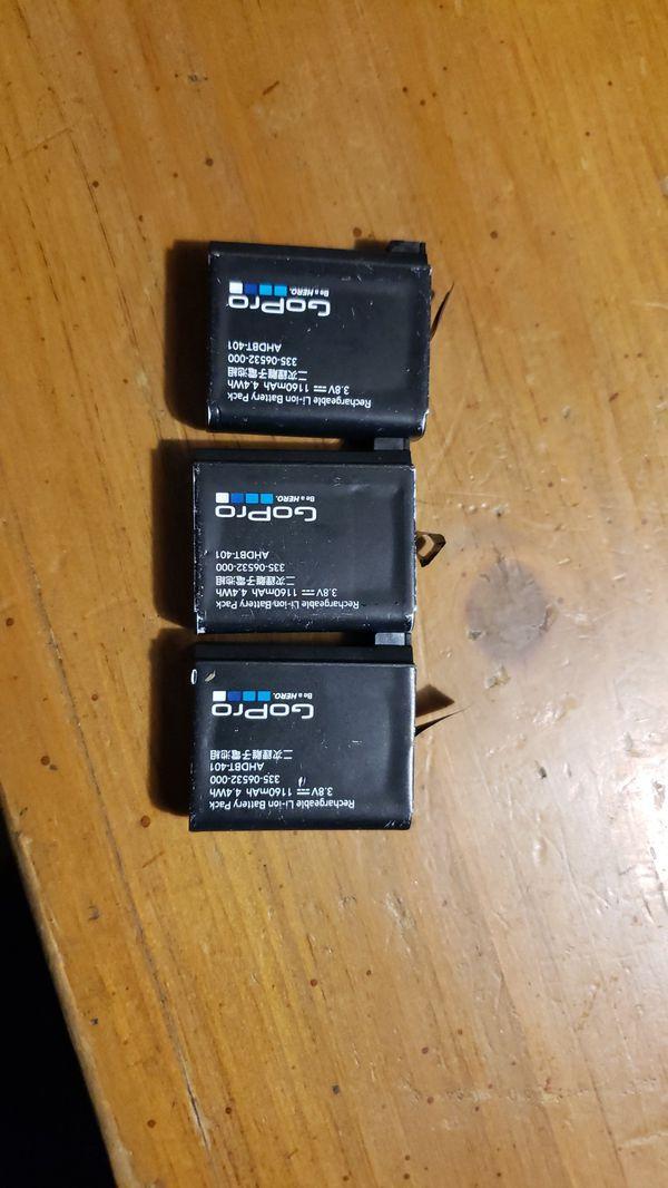 3 gopro hero4 batteries