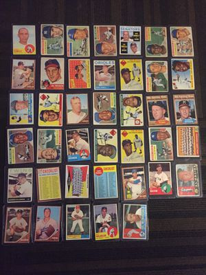 Baseball Cards Collectible 1950's-1960's for Sale in Silver Spring, MD