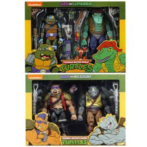 NECA Teenage Mutant Ninja Turtles Cartoon Bebop and Rocksteady or Slash and Leatherhead for Sale in South Gate, CA