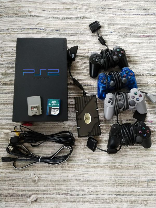 PS2 console, games and everything included