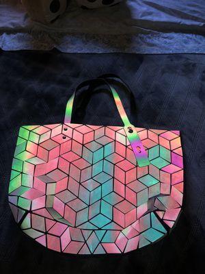 Women Handbags bao bao Bag Geometry Luminous Folding Shoulder Bags Tote female for Sale in San Bernardino, CA