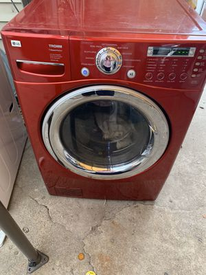 LG front load washing machine with three months warranty free Delivery and installation for Sale in Oakland, CA
