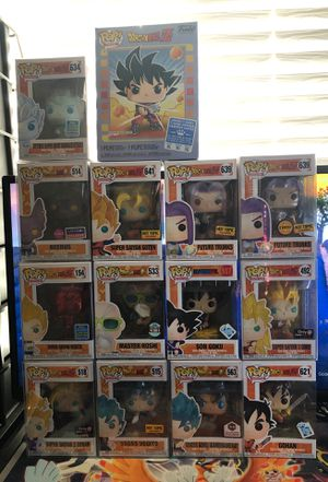 Dragonball z epic funko pop lot!!! for Sale in Moreno Valley, CA
