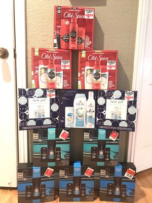 Axe Old Spice Olay Gift Sets $7 EA. Or 3/$20📍NO DELIVERY📍READ DESCRIPTION FOR LOCATION📍 for Sale in Norwalk, CA