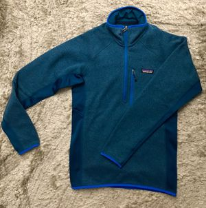 NEW Patagonia Men's Big Sur Blue 1/4 Zip Better Sweater Pullover XS for Sale in Chicago, IL