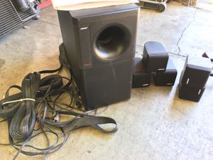 Bose Acoustimass 6, 5.1 Home Theatre System, Surround Speakers and Sub for Sale in Sunnyvale, CA