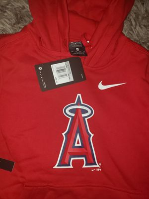 Women's Los Angeles Angels Nike Red Club Tri-Blend Pullover Hoodie. Size EXTRA SMALL for Sale in Downey, CA