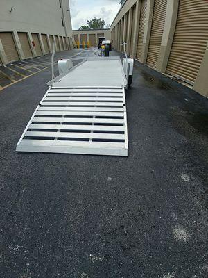 14 foot. Aluma aluminum utility trailer for Sale in Royal Palm Beach, FL