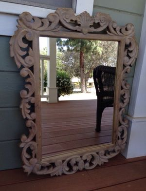 Wooden Mirror World Market /Pottery Barn for Sale in San Diego, CA