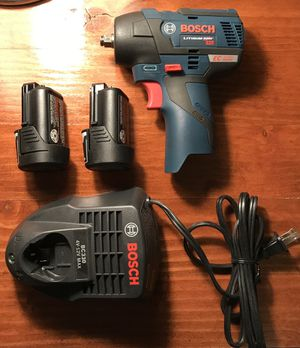 Bosch 12 Volt Brushless 3/8 Impact Wrench for Sale in Rocky River, OH