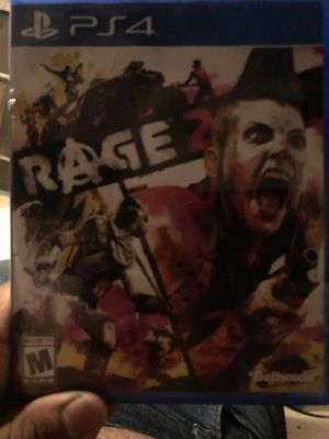 Ps4 Days Gone Rage 2 for Sale in Houston, TX