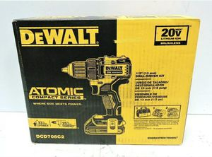 Dewalt ATOMIC 20-Volt MAX Brushless Cordless (2) Batteries 1.3Ah, Charger & Bag for Sale in Los Angeles, CA
