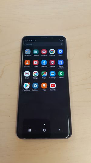 Unlocked Samsung Galaxy S9 Plus 64GB**Works with Any Carrier such as Verizon, T-Mobile,Att, Cricket, Metropcs, Straight Talk, worldwide. Clean IMEI. for Sale in Mesa, AZ