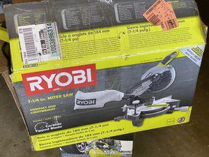 Ryobi 7 1/4 Miter Saw for Sale in Claremont, CA