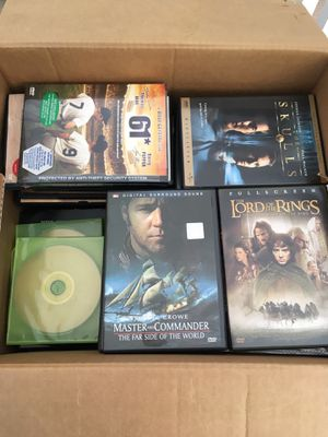 Box Full of DVDs for Sale in Newark, CA