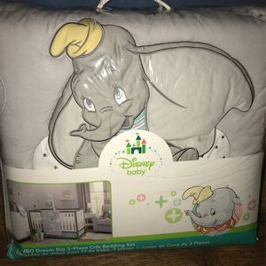Brand New Dumbo Baby Crib Bedding Set for Sale in Los Angeles, CA
