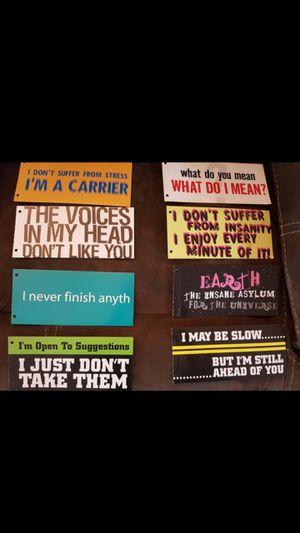 Bumper stickers! for Sale in Arlington, WA