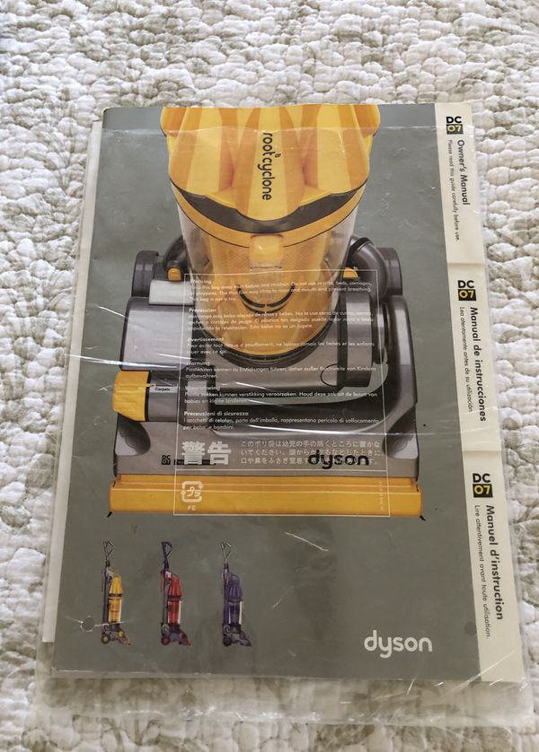 Dyson DC07 Root Cyclone Manual
