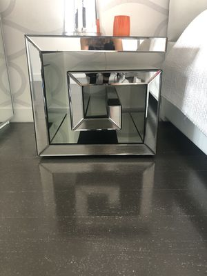 ZGallery Mirror end table for Sale in New York, NY