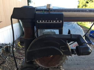 Craftsman table saw with tool box for Sale in Spring Valley, CA