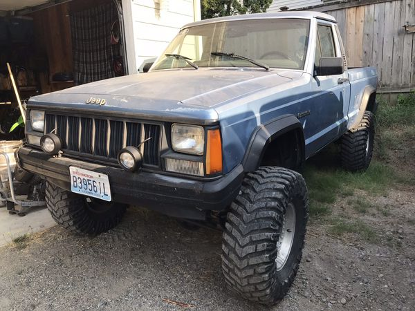 89 Jeep Comanche