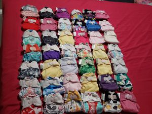 42 bumgenius littles/newborn cloth diapers for Sale in Elma, WA