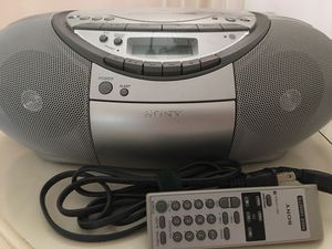 Sony CFD-S350 CD cassette radio for Sale in Royal Palm Beach, FL