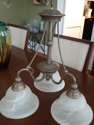 Beautiful hanging lamp for Sale in Greenville, SC