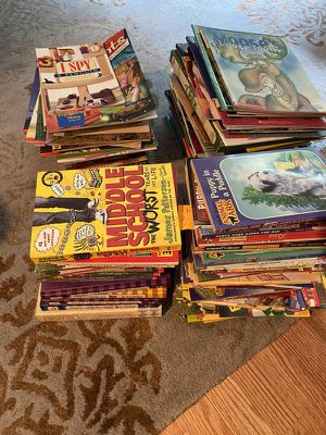 2 big boxes of kids books , magazines 1st to 5-6th grade $40 for all for Sale in Sammamish, WA
